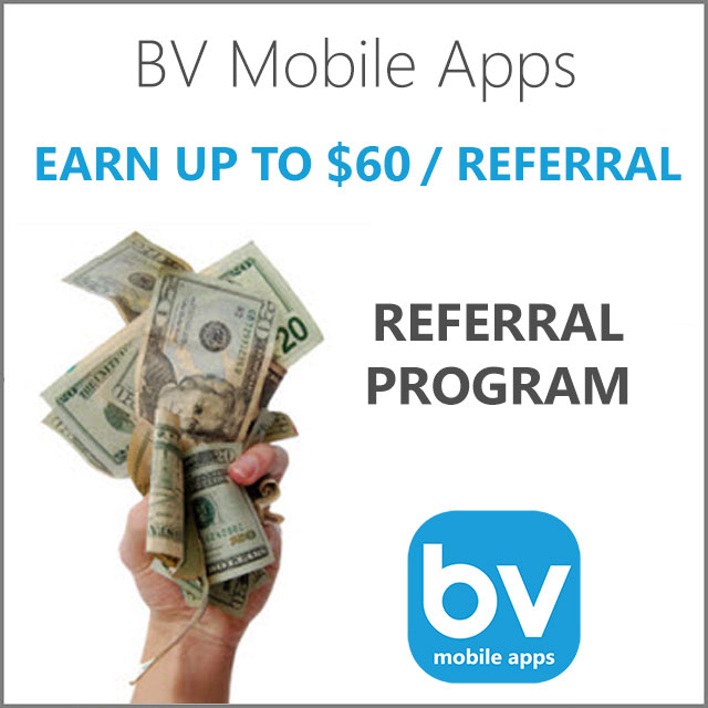Referral Program | BV Mobile Apps